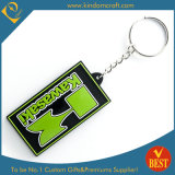PVC su ordinazione Keychain (LN-0190) di Cheap 2D Promotional