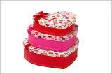 Ювелирные изделия формы сердца/коробка шоколада/косметического подарка упаковывая бумажная