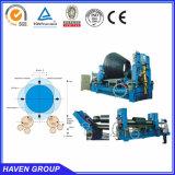 máquina superior universal hidráulica W11S-12X3200 da placa do rolo do rolamento e de dobra