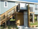 Plataforma residencial vertical do uso hidráulico da cadeira de rodas para a venda