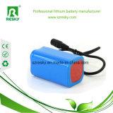 блок батарей 7.4V 4400mAh Icr18650 для задействуя света Bike