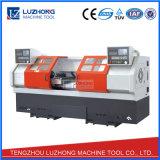 SCK6236X2 두 배 스핀들 선형 가이드 레일 CNC 선반 기계