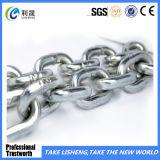 La qualité a galvanisé la chaîne de lien DIN766 soudée