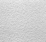 Panneau acoustique de plafond de fibre minérale blanche