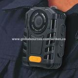 Un-Bouton-Enregistrement sans fil imperméable à l'eau de support d'appareil-photo de corps de police de Senken