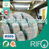 Het Synthetische Materiaal van de Markeringen van Etiketten BOPP voor Flexibele UV Roterende Geschikt om gedrukt te worden