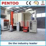 Cabina de la capa del polvo para el cambio del color rápido con ISO9001