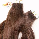 100%年のRemyの毛テープPrebondedの人間の毛髪の拡張