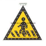 Предупредительный знак движения продуктов безопасности дороги солнечный
