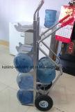 Lieferant der faltbaren AluminiumTafelwaßer-Laufkatze-/Gallonen-Wasser-Flaschen-Laufkatze
