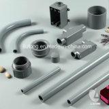 Norme en plastique de conduit et d'ajustage de précision UL651 pour élém. élect. (conduit, courbure 90deg, joint de dilatation, type accès de T ajustant etc.)