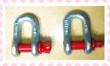 미국 놀이쇠 유형 색깔 나사 Pin 하락은 D/Bow 수갑을 위조했다