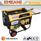 uso elettrico della casa del generatore della benzina di prezzi bassi 2.5kw