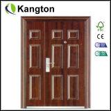 Buiten Steel Door, Steel Security Door met Ce (ijzerdeur)
