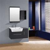 Vanità su ordinazione commerciale di legno della stanza da bagno di disegno americano