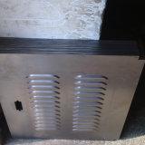 電流を通された鋼鉄シャッターWindows