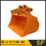 Cubeta da máquina escavadora, máquina escavadora que inclina a cubeta