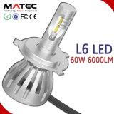 4 측 옥수수 속 칩 제조 가격 8000lm 기관자전차 LED 헤드라이트