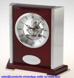 Orologio di legno personalizzato qualità eccellente della Tabella per la decorazione domestica