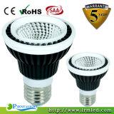 Luz de aluminio de la lámpara 15W LED PAR38 de la MAZORCA de B22 E26 Edison