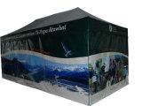 박람회 광고를 위한 주문 디지털에 의하여 인쇄되는 접히는 천막