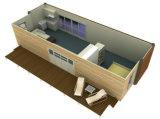 Het beweegbaar PrefabHuis van de Structuur van het Staal/Geprefabriceerd huis/het Goedkope Huis van de Container
