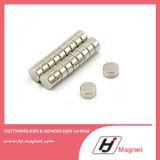 Forte disco personalizzato eccellente magnete permanente neodimio/di NdFeB di bisogno N35 N52 per i motori