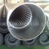 Cilindro a forma di V del filtro a sipario della rete metallica per la perforazione buona