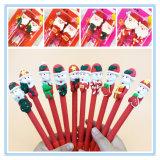 Procès promotionnel de crayon lecteur de bille du père noël d'argile de polymère de cadeau de décoration de Noël