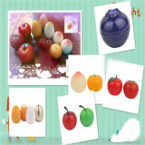 80g Apple Shape Jar, 30g Plastic Bottle, 10g Cosmetic Bottle, Fruit Shape Bottle, Luxury Skincare Packaging