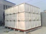 GRP FRP合成の部門別水貯蔵タンク