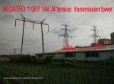 Torretta della trasmissione di tensionamento di Megatro 110kv 1A6 J4