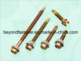 Farbe der Selbstbohrende Schrauben-DIN7504k/gelbes Zink