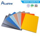 Hoja compuesta de aluminio del panel ACP de la pared de la capa al aire libre del revestimiento 3m m 4m m PVDF