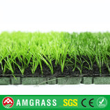 Tappeto erboso artificiale dell'erba poco costosa di calcio con protezione di gomma