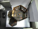 Подгонянная коробка лазера Diecut вырезыванием Mooncake с светом СИД
