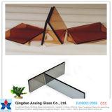 ゆとりまたは青銅の着色されたか、または染められた反射強くされるか、または浮遊物または絶縁されたガラス