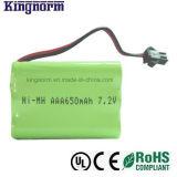 AAA650 7.2V NiMH電池のパック
