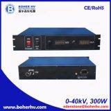 Alimentazione elettrica ad alta tensione della cremagliera 300W 40kV LAS-230VAC-P300-40K-2U
