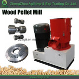 平ら販売のためのタイプ小型木製の餌の製造所の手動生物量の餌の出版物機械を停止しなさい