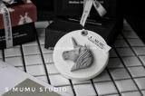 新しい到着の円形の陶磁器の香りのギプス(AM-85)