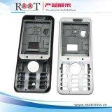 Крышка сотового телефона пластичная с вставкой сплава цинка