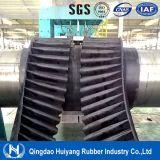 Banda transportadora de goma de carga S400 del flanco grande de la capacidad