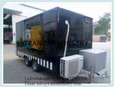 2017 Vrachtwagen van het Voedsel van de Aanhangwagen van het Voedsel van de Hotdog van de Catering van de Levering van China de Mobiele met Wielen