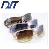 Rétro lunettes de soleil de dames de sports promotionnels avec le logo fait sur commande