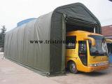 Le meilleur parking de vente de bus de tissu de PE de vert de bâti en métal (TSU-1850/TSU-1865)