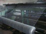 鶏の網の塀