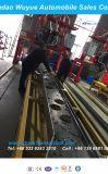 Semirimorchio pratico del contenitore del tester resistente Suspension12.5 dell'asse in tandem con la rete fissa