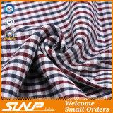 3つのカラーはワイシャツのためのジャカード綿織物を染めた