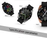 第1人間の特徴をもつIosの電話のための心拍数のモニタが付いているG5スマートな腕時計
